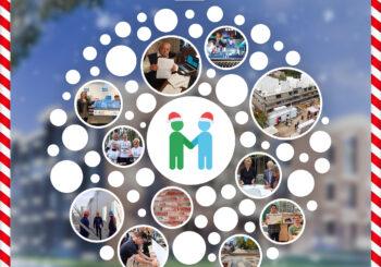 Woongroep Huizer-maatjes wenst u fijne feestdagen en een gezond 2021!