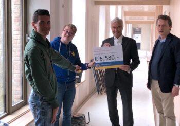 Lions Club Huizen steunt Huizer-maatjes met een gift van ruim € 6.500,-